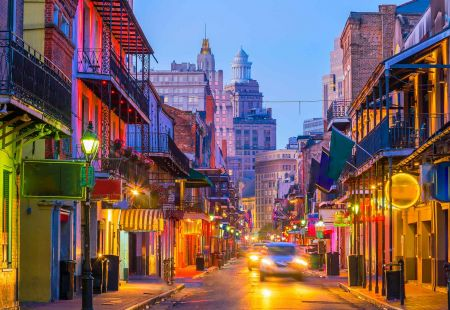 American Holidays to New Orleans with Cassidy Travel